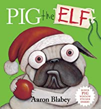 Pig the Elf plus Window Cling