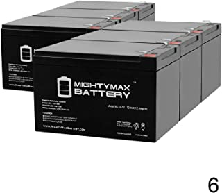 Mighty Max Battery 12V 12AH Replacement for X-Treme The Electric X-600 Deluxe - 6 Pack Brand Product