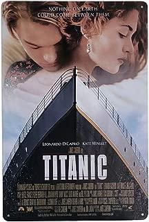 Titanic Movie Poster Retro Metal Tin Sign, 8
