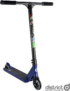 District Lewis Crampton C50R Complete Pro Stunt Scooter - Blue/Black