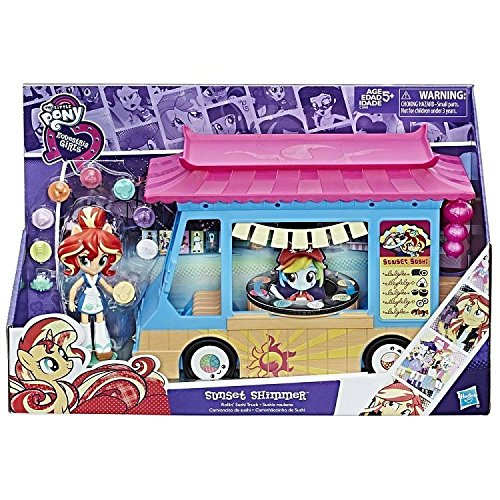My Little Pony - Equestria Minis Caravana Sushi (Hasbro C1840EU4)