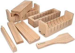 Navaris Kit para Hacer Sushi en casa - Set de 8 moldes y