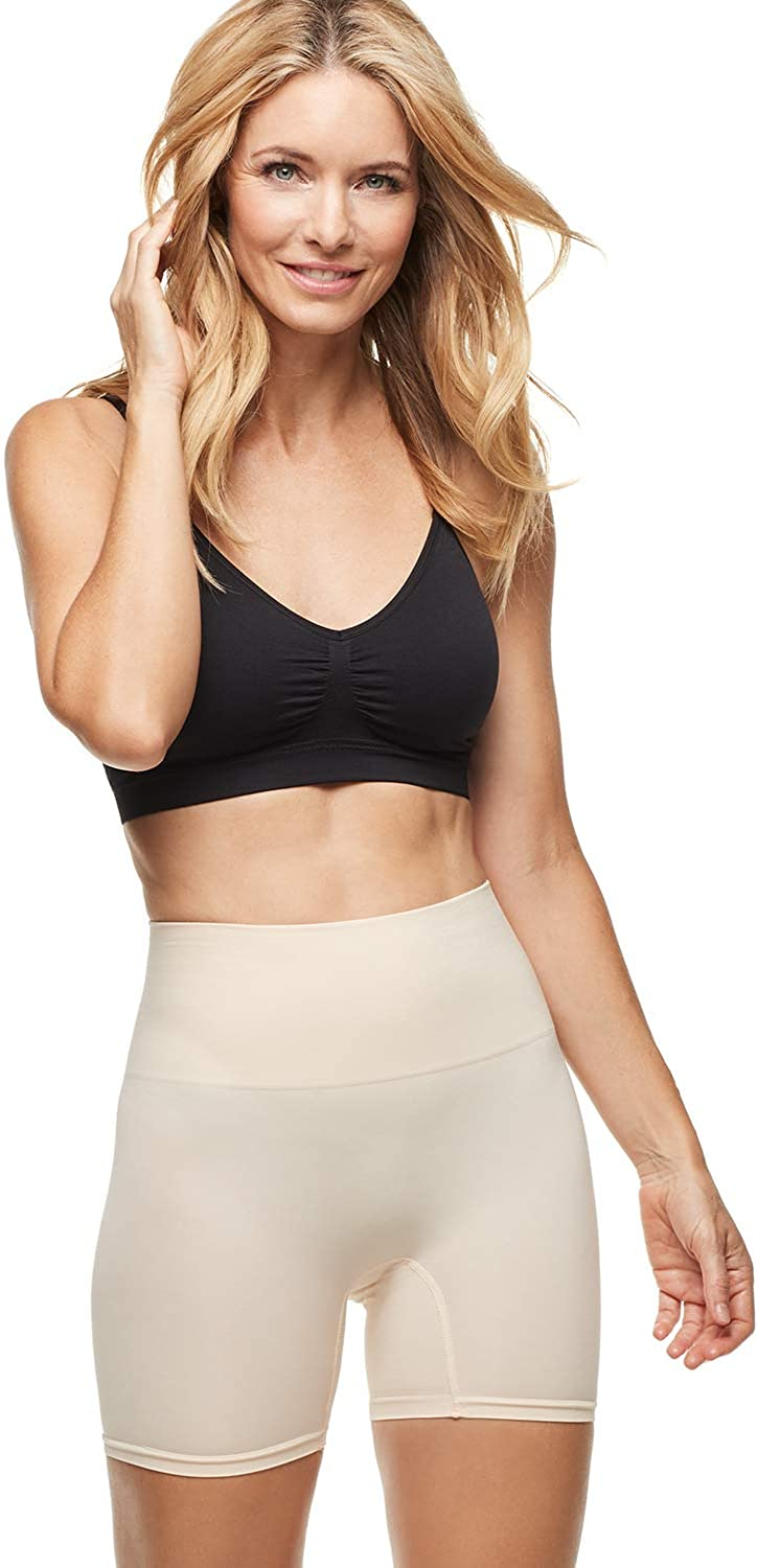 ESSENTIALS BY TUMMY TANK Women's Seamless Shaping Short