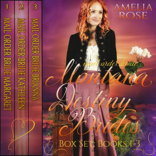Montana Destiny Brides Box Set audiobook cover art