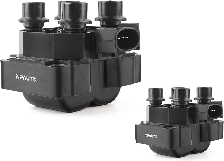 NPAUTO Ignition Coils Compatible with 4.6L 5.0L V8 1997 1998 199