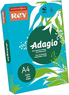 Adagio 201.1211 A4 160gsm Card - Bright Blue (Pack of 250)