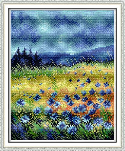 Maydear Full Range of Embroidery Starter Kits Stamped Cross Stitch Kits...