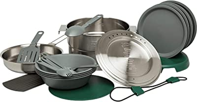 Stanley Base Camp Cook Set for - Best Camping Cookware For Family camping