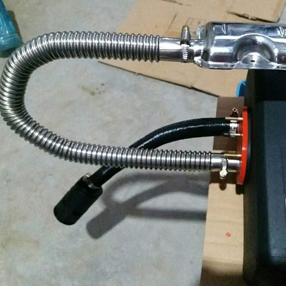 120cm Abgasschlauch Edelstahl Auspuffrohr 25mm Gas-Entl/üftungsschlauch Auto Heizung Edelstahl Abgasrohr Standheizung Kraftstofftank Abgasrohr F/ür Diesel Heizung L/änge