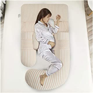 ZSEFV Boyfriend Pillow Maternity Pillow Pregnancy Body Pillow Comfortable, Safe and Durable Sleeping Pillow for Belly, Knees and Back Support (Color : C)
