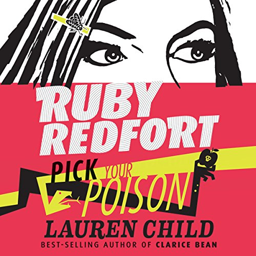 Ruby Redfort Pick Your Poison audiobook cover art