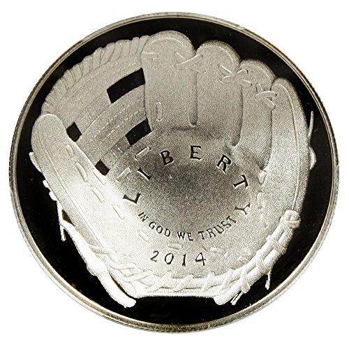 2014 W $5 Modern Commems - Gold Baseball Hall of Fame Five Dollar PR69 PCGS DCAM