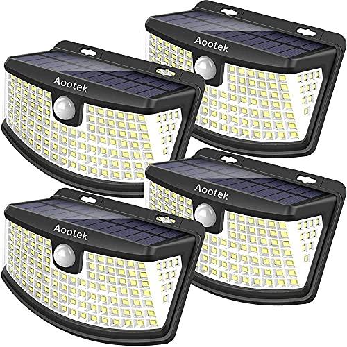 Aootek New solar lights 120 Leds with lights...