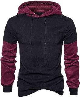 Mogogo Mens Fall Winter Athletic Slim Pullover Tunic Hoodie Sweatshirts