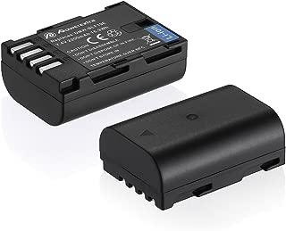 Powerextra 2 Pack High Capacity Replacement Battery for Panasonic DMW-BLF19, DMW-BLF19E, DMW-BLF19PP and Panasonic Lumix DC-GH5, DMC-GH3, DMC-GH3K, DMC-GH4, DMC-GH4K Digital Camera