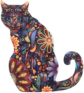 Fashion Cute Animal Cat Pattern Brooch Pin