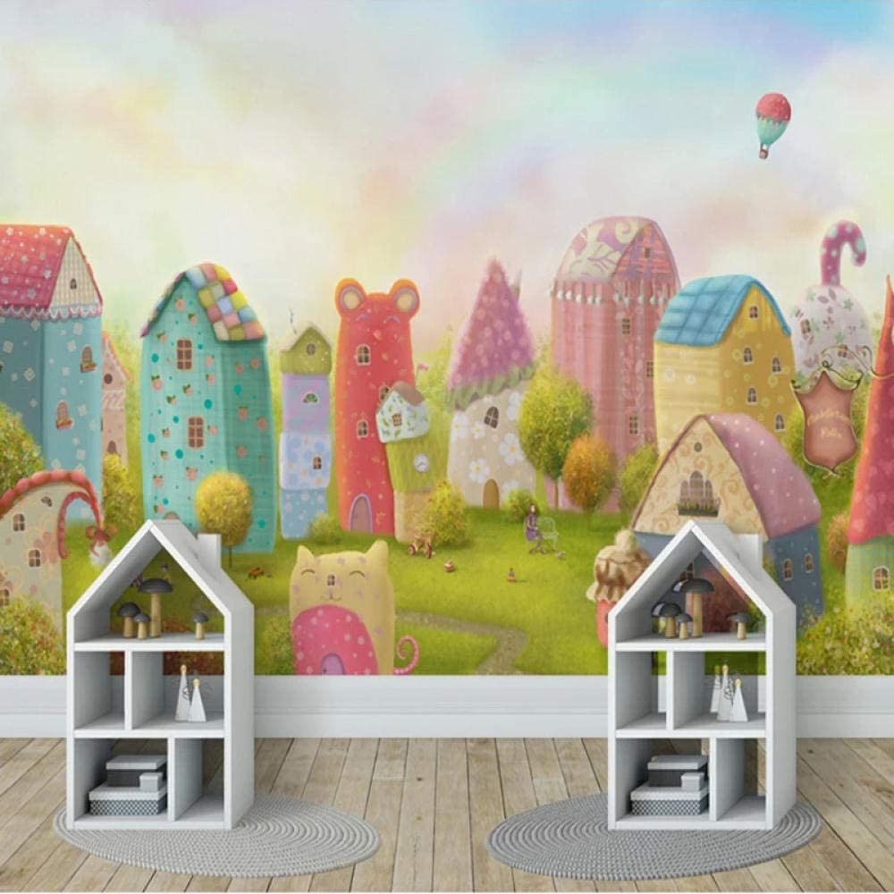 Custom 3D Photo Inventory cleanup selling sale Wallpaper Cartoon Children Room Bed Castle Finally resale start House