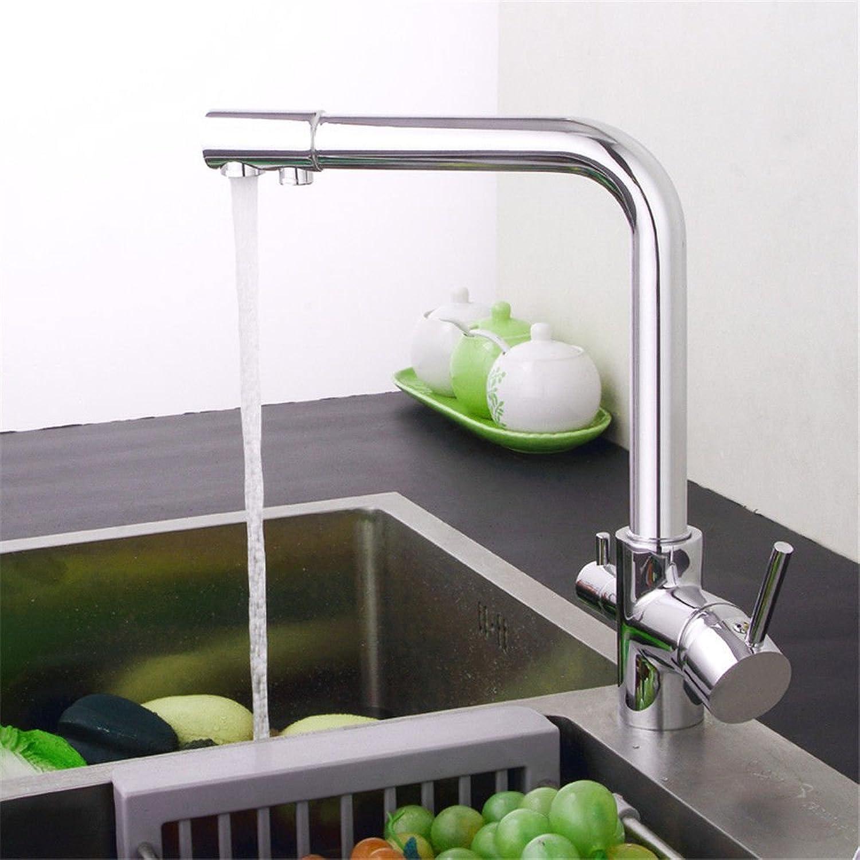 Gyps Faucet Waschtisch-Einhebelmischer Waschtischarmatur BadarmaturKüche Wasserhahn Warmes und Kaltes voll Kupfer Reines Wasser Spülen Waschbecken Wasserhahn,Mischbatterie Waschbecken