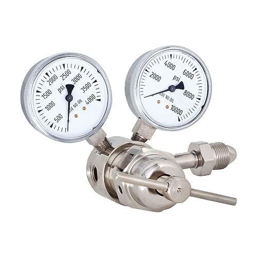 Miller Smith 825-0009 Nitrogen Ultra High Pressure Purging Regulator 2