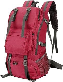 Dengyujiaasj Backpack, 45L Man Woman Tenting Hiking Trekking Backpack, Outdoor Bag Tourist Rucksack, Sport Climbing Rainco...
