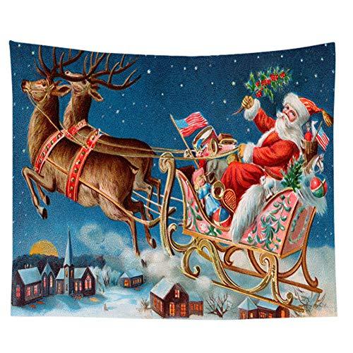 Proumhang Tapiz de Pared de fantasía Tapsetry de Navidad decoración Colgante para Dormitorio, Sala de Estar,...