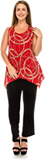Best red glitter tunic Reviews