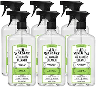 J.R. Watkins All Purpose Cleaner, 24 fl oz, Aloe & Green Tea (6 pack)