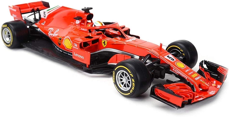 comprar nuevo barato Jackson Wang Modelo Modelo Modelo Coche Fórmula F1 Campeonato 2018 Ferrari 1 18 Escala Modelo de fundición Modelo de aleación Modelo de colección Adornos Decoración de Regalo,rojo  promociones emocionantes