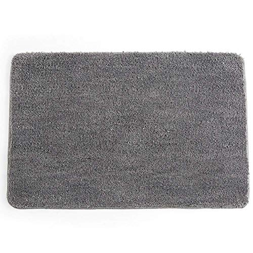 Faux Sheepskin Rug, Odour Free Soft Fluffy Waterproof Design for Office Room Living Room Bedrooms Playing Room (Silver Grey, 60cm x 90cm), Silver Grey