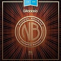 【3セット】D'Addario ダダリオ NB1253 ニッケルブロンズ Light アコースティックギター弦