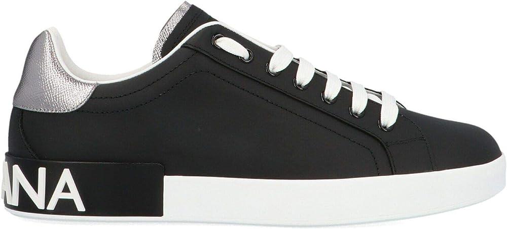 Scarpe Dolce&gabbana luxury fashion  sneakers  uomo in pelle CS1760AH5278B979