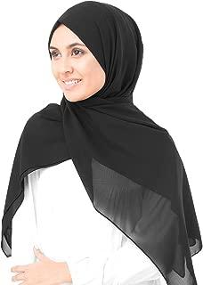 New Sheer Georgette Ladies Summer Scarf Hijab Wrap
