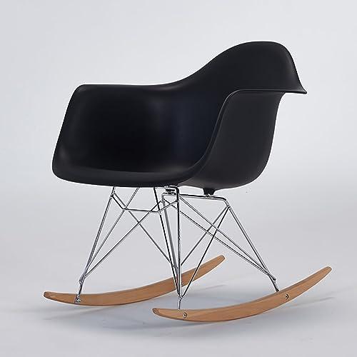 WZLDP Chaise de Loisirs Chaise de Salle à Manger créative Moderne Minimaliste Chaise en Bois Massif Chaise de café en Plastique Jambe d'eucalyptus Chaise (Couleur   G)