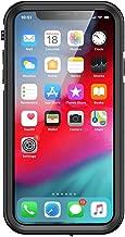 iPhone XR, aquaLife Slim Waterproof Shock & Drop Proof, Dirt & Snow Proof Underwater Swimming Diving Beach Case - Fully Sealed w/Built-in Screen Protector & Clear Back (Black)