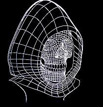 Skelet SFALHX 3D LED Nachtlampje Illusie Lamp 16 Kleurverandering Decor Lamp Kinderkamer Decor Beste Festival Verjaardagsc...
