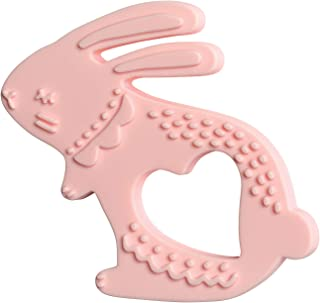 Manhattan Toy Bunny Textured Silicone Teether