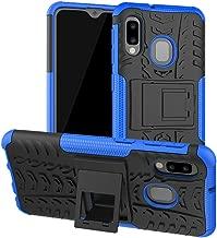 Yiakeng Galaxy A10E Case, Galaxy A20E Case, Shockproof Slim Protective with Kickstand Hard Phone Cover for Samsung Galaxy A10E/A20E (Blue)