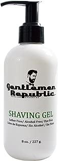 Gentlemen Republic Alcohol/Dye/Lather Free Sensitive Skin Shaving Gel