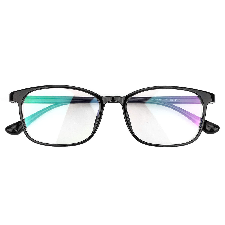 Hifot Blue Light Blocking Glasses Computer Reading//Gaming//TV//Phones Glasses Eyeglasses Frame Filter Blue for Women Men
