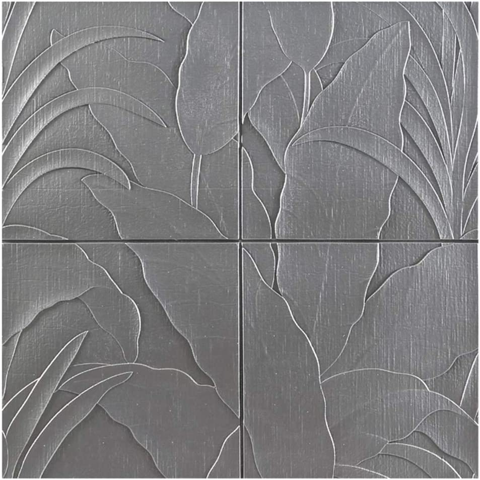 Max 49% OFF ZHANWEI 3D Wall Panels Wallpaper Banana Leaf Pattern Self-Adhesi Shipping included