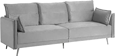 Amazon.com: HONBAY Convertible Sectional Sofa Couch, L ...