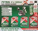 REDEX Petrol Fuel System Cleaner 4 x 500ML