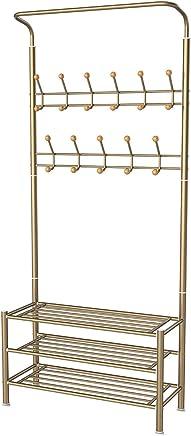 featured product Homemaxs Entryway Coat Shoe Rack,  3-Tier Shoe Rack Hallway Organizer with Rust Resistant Metal Coat Tree,  Prevent Scratching Entryway Organizer with 22 Hooks Hall Tree,  Easy Assembly