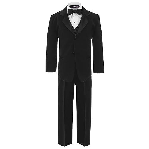 Gino Giovanni Boys Formal Tuxedo Suit Dresswear Set