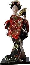 FANCY PUMPKIN Japanese Dolls Geisha Girl Geiko Kimono Doll Home Decoration Art Collection, E-07