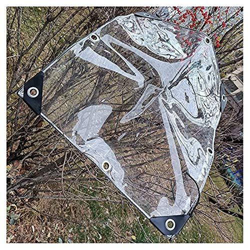 SHIJINHAO Lonas Impermeables Exterior,Tapa De La Tapa De La Tapa De La Lona De La Techo De Alta Transparencia Hoja De Vidrio A Prueba De Agua Anti-UV Anti-UV Anti-óxido -50 Cm, For La Planta De La Pla