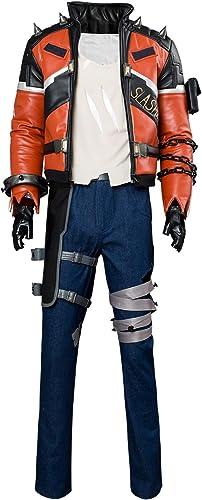 ganancia cero MingoTor OW OW OW Soldado Jacket Outfit Slasher Skin Disfraz Traje de Cosplay Ropa personalización  hermoso