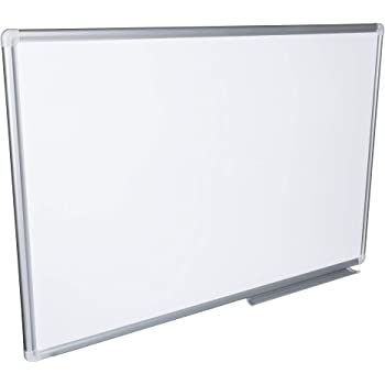 kratzfest 200 x 100 cm VISCOM Whiteboard weitere Gr/ö/ßen w/ählbar Magnettafel mit Alurahmen magnetisch