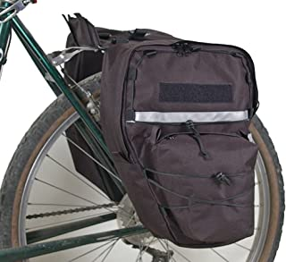 Bushwhacker Cimmaron Black - Bicycle Pannier Cycling Rack Bag Bike Rear Pack