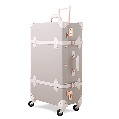 f6f7421f6f Uniwalker スーツケース 超軽量 キャリーケース 復古主義 トランク 旅行 出張 大容量 静音四